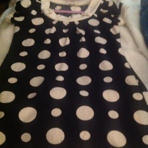 Cute retro style sweater dress